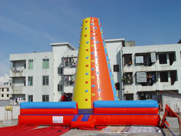 PVC Climbing Amusement / Inflatable Sports Games / Climbing Wall For Sport