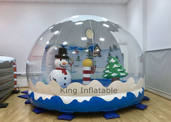 In stock 2020 Inflatable Christmas Decoration Inflatable Snow Globe for Take Photos