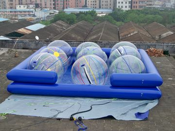 1.3m High Double Tube Inflatable Swimming Pools With Water Ball
