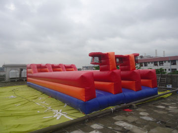 0.55mm PVC Tarpaulin Inflatable Sports Games / Tarpaulin Runway