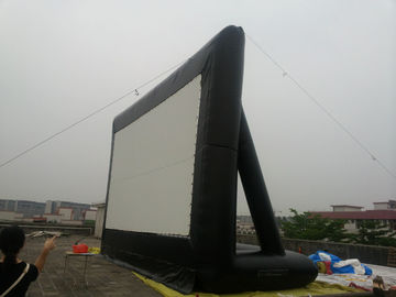 Festival Outdoor Inflatable Movie Screen / Movie Screen For Commercial