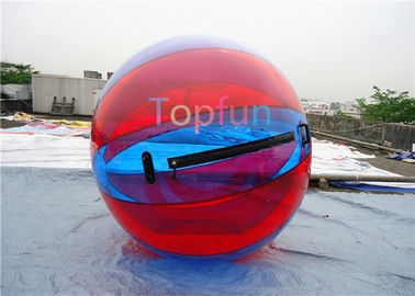 Colourful PVC Inflatable Water Ball/Water Ball With 2m Diameter For Amusement Park
