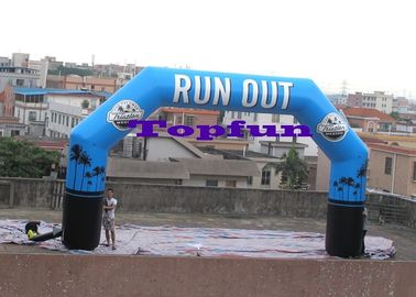 Customized Inflatable Finish Line Arch / Inflatable Archs for Sports And Events