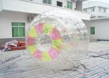 Rolling Inside Funny Inflatable Zorb Ball , Colorful Entrances Kids Hamster Ball