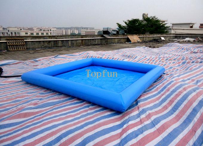 safe 5 5m blue kids inflatable paddling pool pvc. Black Bedroom Furniture Sets. Home Design Ideas