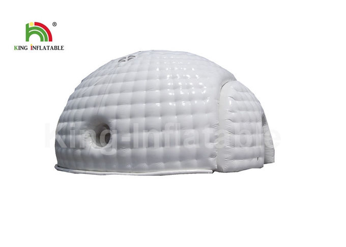Commercial White Dome House Shape Airtight Tent For Part Event 1 Year Warranty