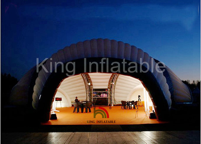Giant DIY Inflatable House Tent LED Lighting Inflatable Event Tent For Exhibition & Giant DIY Inflatable House Tent LED Lighting Inflatable Event Tent ...
