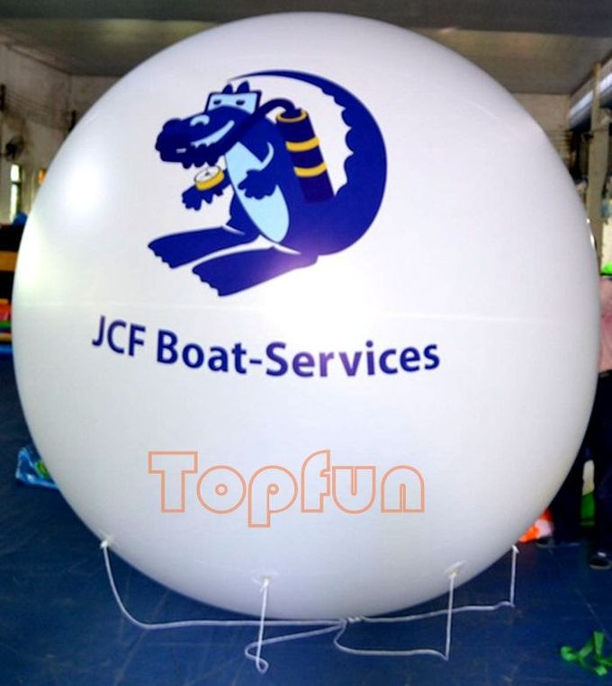 Round Helium Inflatable Advertising Balloons Events